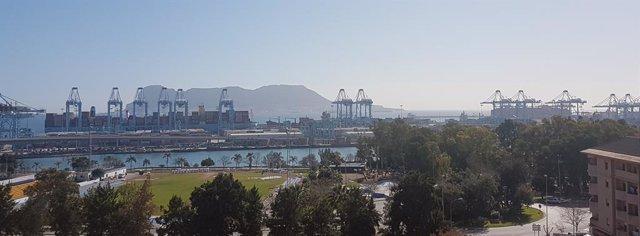 Cádiz.-Sucesos.- Incautados cerca de 200 kilos de cocaína oculta en un contenedo