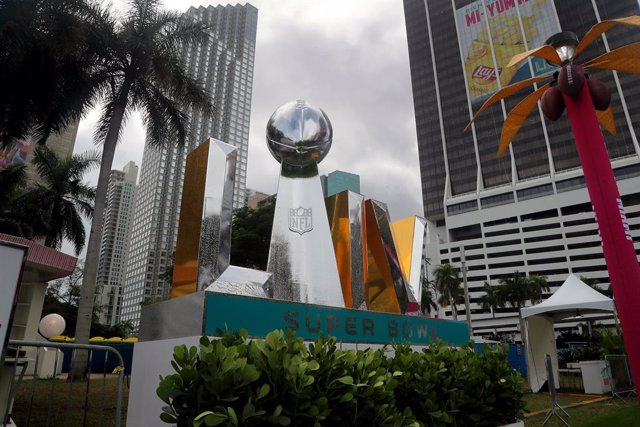 Miami, Florida, lista para la Super Bowl