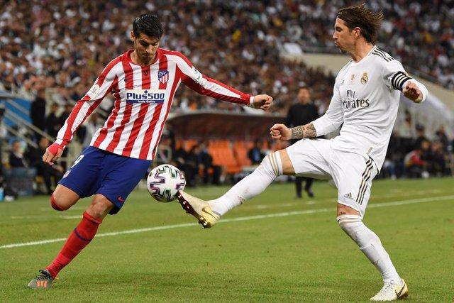 Fútbol.- Los mejores derbis Real Madrid-Atlético de los últimos años, en el 'Can