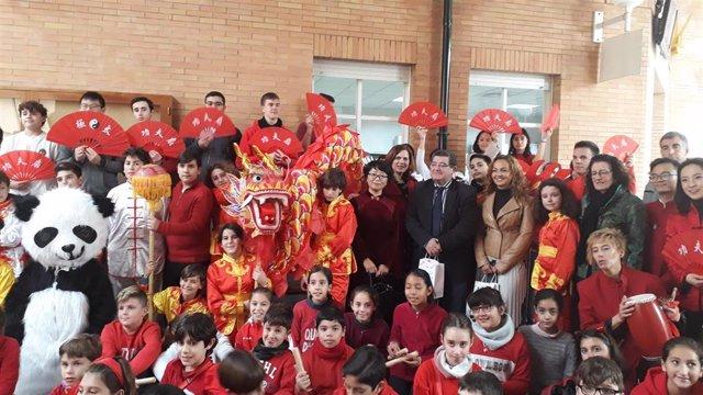 El colegio Ortiz de Zúñiga celebra el añio nuevo chino