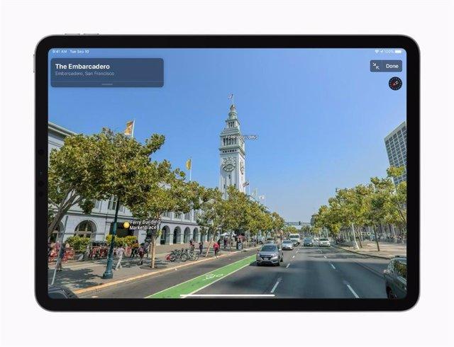 Apple rediseña su aplicación de mapas, que llegará a Europa este año