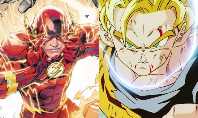 Flash y Dragon Ball... ¿Más cerca de lo que parece?