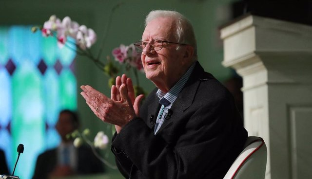 El expresidente de Estados Unidos Jimmy Carter