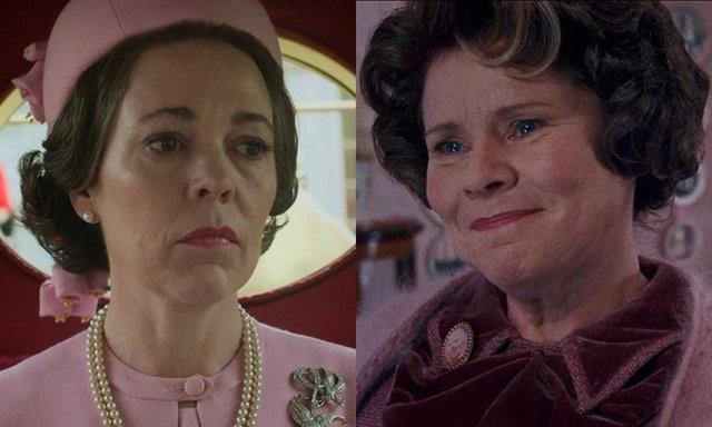 Olivia Colman da el relevo a Imelda Staunton como la nueva Isabel II