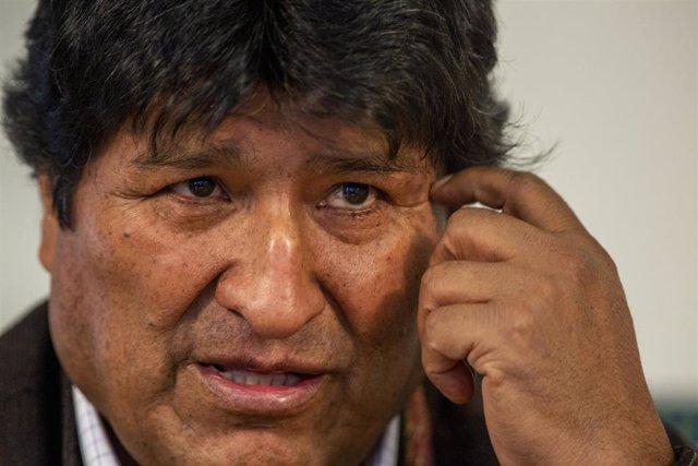 El expresidente de Bolivia, Evo Morales.