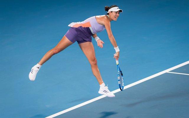 AV.- Tenis/Australia.- Muguruza se queda sin gloria en el Abierto de Australia