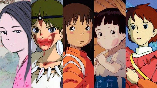 Las películas  del Studio Ghibli
