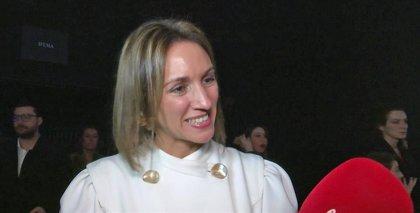Beatriz Tajuelo, ex de Albert Rivera, esquiva las preguntas sobre el embarazo de Malú