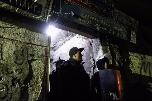 Egipto.- Condenadas a muerte 37 personas por atentados terroristas en Egipto