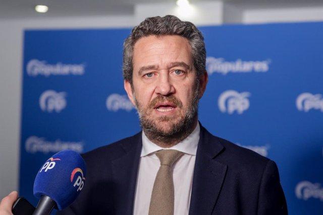 """VÍDEO: El PP exige que Ábalos no continúe """"ni un día más"""" como ministro tras su"""