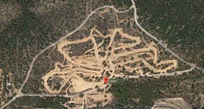 Herido un motorista tras caer en un circuito de motocross en Alcora (Castellón)