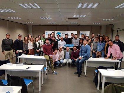 Concejales y alcaldes de NNGG Granada ponen en común su labor diaria en la IV Intermunicipal de la formación juvenil