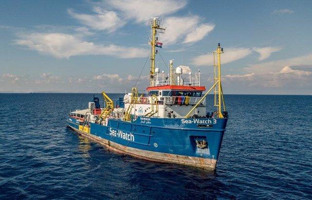Europa.- El 'Sea Watch' localiza a 47 migrantes en el Mediterráneo