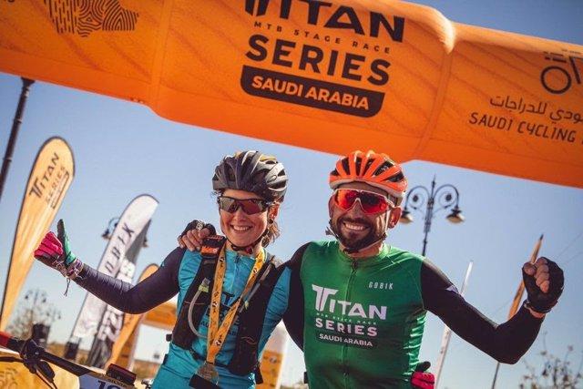 Josep Betalú i Sílvia Roura guanyen la primera edició de la Titan Series de l'Aràbia Saudita.