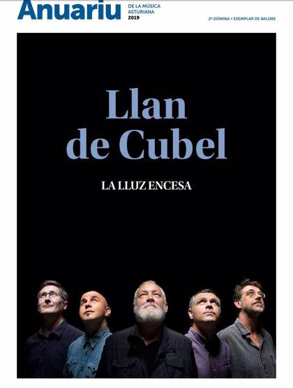 Llan de Cubel protagoniza la portada del 'Anuariu de la Música Asturiana'