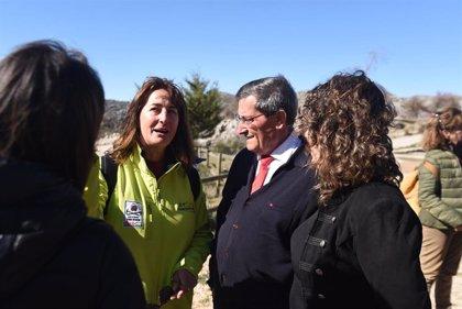 Inaugurada en Zafarraya (Granada) la Vía Ferrata 'John Hogbin' de 550 metros y 32 tramos de distintas dificultades