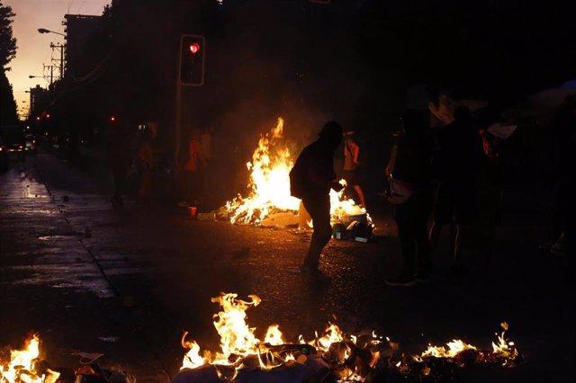 Disturbios en Concepción, Chile