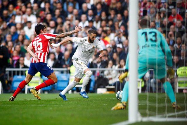Fútbol/Primera.- Crónica del Real Madrid - Atlético de Madrid, 1-0