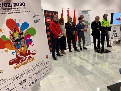 Más de 3.000 atletas recorrerán la ciudad este domingo en la VII Maratón de Murcia