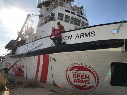 Europa.- El 'Open Arms' consigue un puerto seguro en Italia para desembarcar a los 365 migrantes rescatados