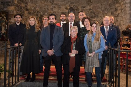Los VI Premios Cruz del Sobrarbe 2020 reconocen el esfuerzo a personas que trabajan por la pervivencia del territorio