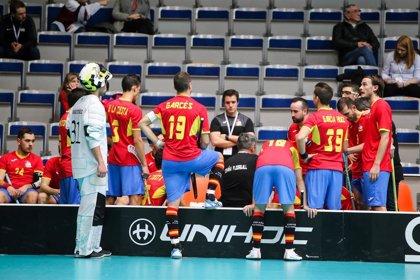España no puede con Alemania (8-4) y se despide del Mundial de Floorball