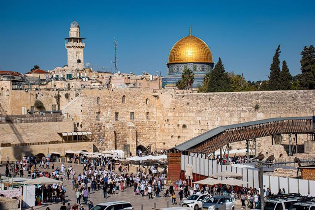 Muro de las Lamentaciones y Explanada de las Mezquitas de Jerusalén