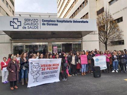 El paritorio de Verín reabre este lunes tras dos meses de protestas y entre reclamaciones de pediatras desde otras áreas