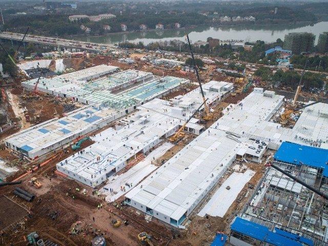 Coronavirus.- Este lunes comienza a funcionar el hospital construido en diez día