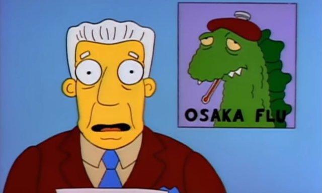 ¿Aparece el coronavirus en Los Simpson?