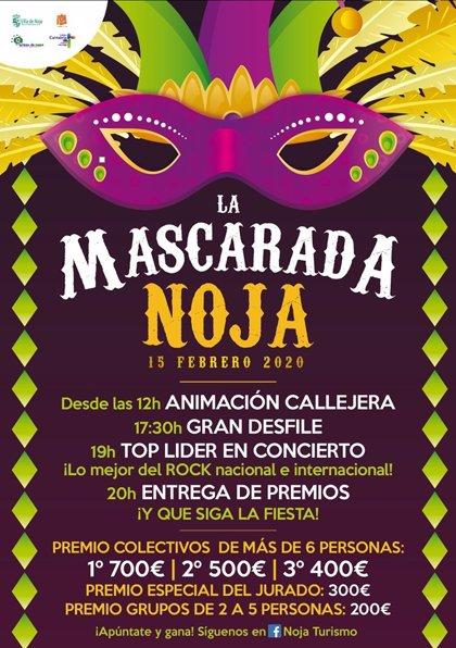 Noja celebrará el 15 de febrero 'La Mascarada'