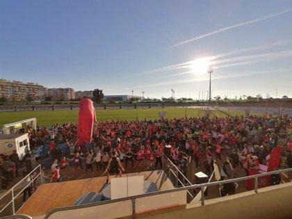 Casi 1.600 personas participan en Málaga en la carrera Entreculturas a favor de las niñas en África y América Latina
