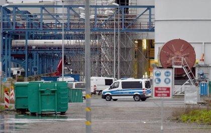 Ecologistas ocupan una central térmica en construcción en el oeste de Alemania