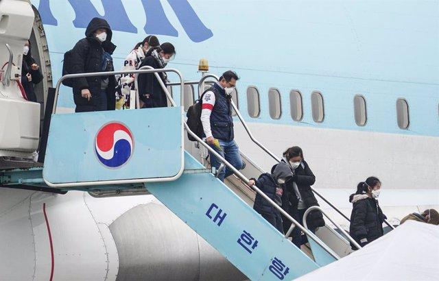 Coronavirus.- Corea del Sur prohíbe la entrada a extranjeros procedentes de la r