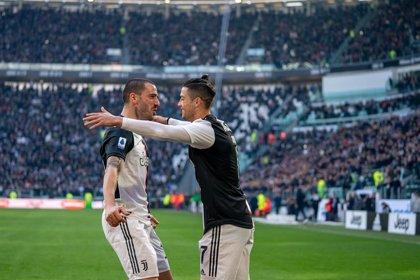 Cristiano y Lukaku tiran de Juventus e Inter