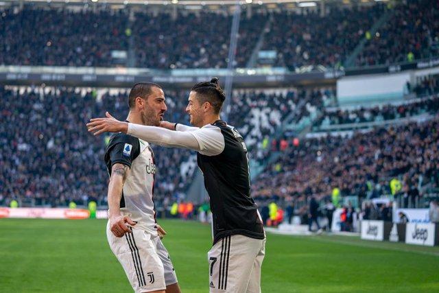Fútbol/Calcio.- (Crónica) Cristiano y Lukaku tiran de Juventus e Inter