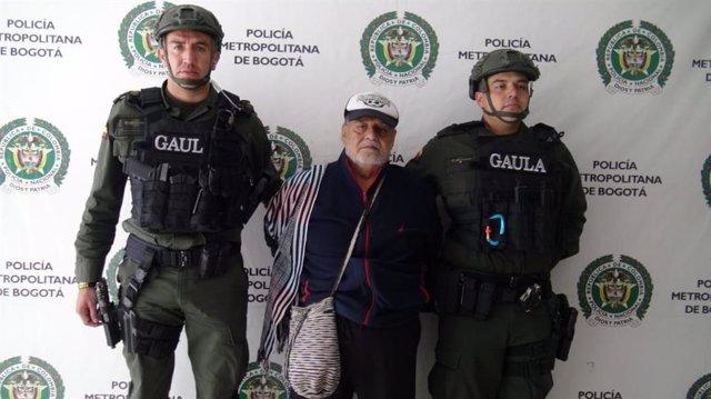 Colombia.- La Policía de Colombia captura a 'Martín Sombra', el 'carcelero' de l