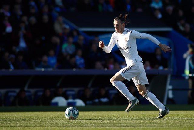 """Fútbol.- El agente de Bale asegura que está """"feliz"""" en el Real Madrid y que cump"""