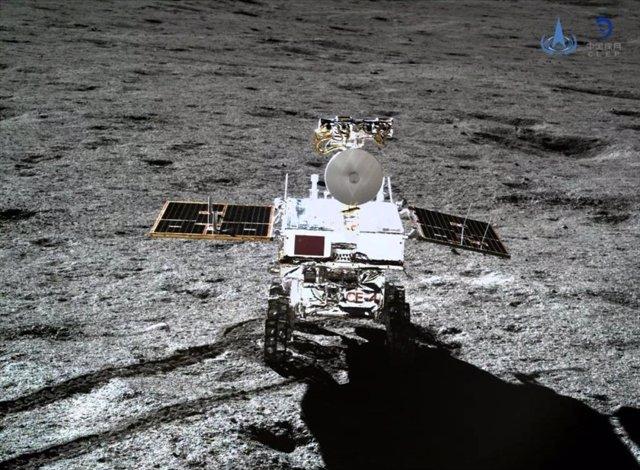 El rover chino en la cara oculta de al Luna recorre 367,25 metros
