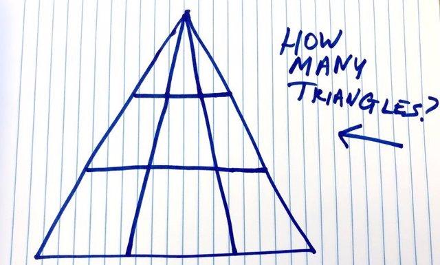 ¿Cuántos Triángulos Ves En Esta Imagen?: Solo Existe Una Única Respuesta Posible, Pero Nadie Parece Ponerse De Acuerdo