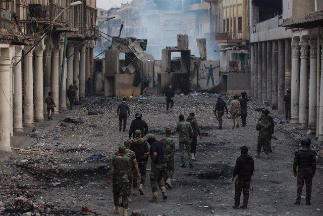 Irak.- Ascienden a más de 550 los muertos en los cuatro meses de protestas antig
