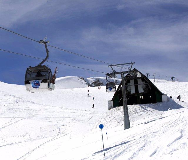 Estació d'esquí de La Molina (Girona)