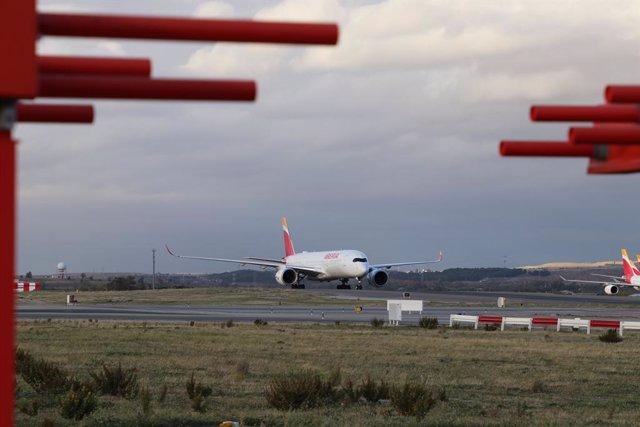 Avió a l'Aeroport Adolfo Suárez Madrid-Barajas