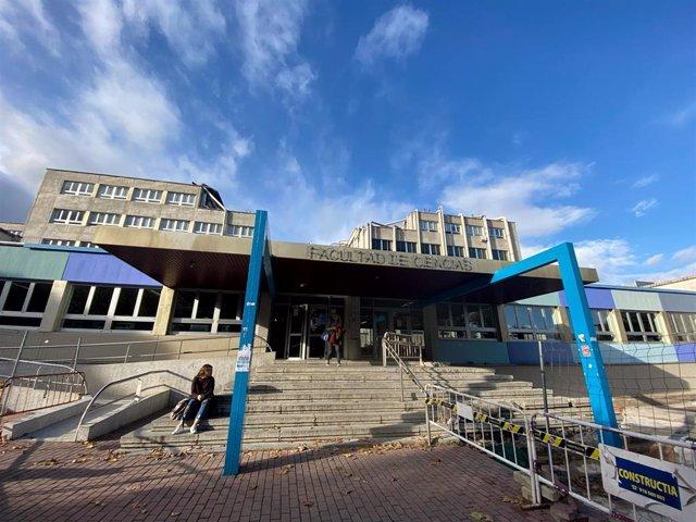 Entrada de la facultad de ciencias de la Universidad Autónoma de Madrid, en Madrid (España), a 14 de noviembre de 2019