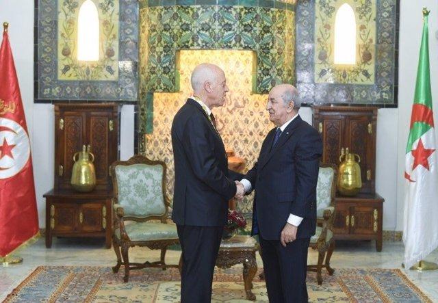 Túnez/Argelia.- El presidente tunecino visita Argelia para estrechar lazos