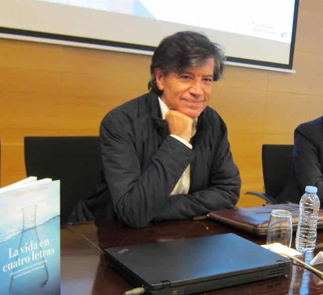 El científico Carlos López Otín