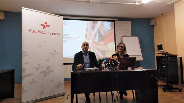 Presentación del balance de la Fundación Cepsa en Campo de Gibraltar