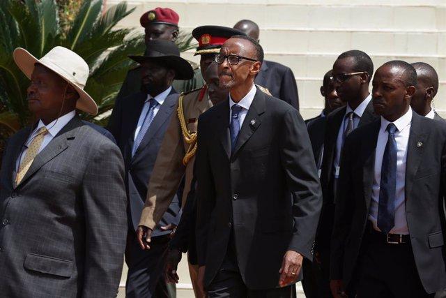 Uganda/Ruanda.- Uganda y Ruanda pactan mejorar sus relaciones y liberaciones rec