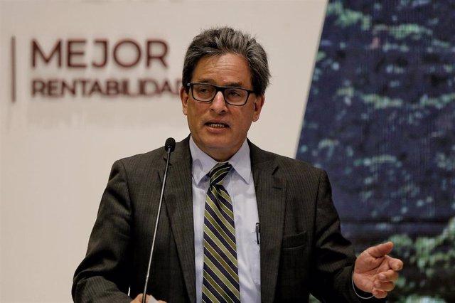 El ministro de Hacienda de Colombia, Alberto Carrasquilla.
