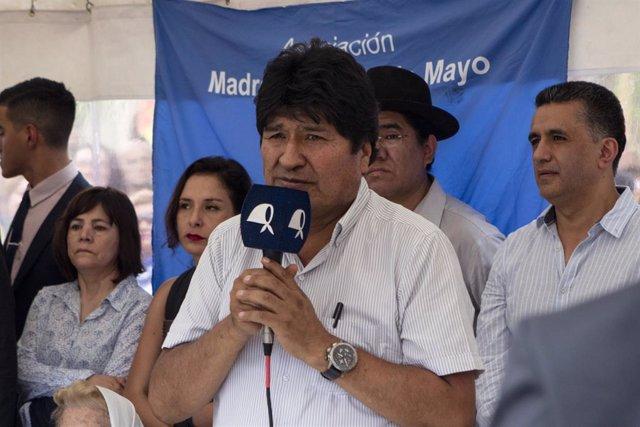 Bolivia.- El MAS incluye a Morales en su lista de candidatos al Senado por Cocha